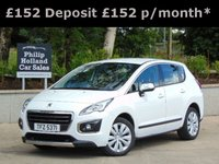 USED 2014 PEUGEOT 3008 1.6 HDI ACTIVE 5d 115 BHP GREAT SPEC, REAR PARKING SENSORS, BLUETOOTH, CRUISE CONTROL
