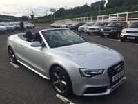 USED 2012 12 AUDI A5 3.0 TDI QUATTRO S LINE S/S 2d AUTO 245 BHP Quattro 4WD Automatic, only 35,000 miles. Leather, heated seats, Sat Nav, Media ++
