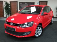 USED 2013 13 VOLKSWAGEN POLO 1.2 MATCH EDITION 3d 59 BHP