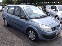 USED 2005 05 RENAULT GRAND SCENIC 1.6 AUTHENTIQUE 16V 5d 116 BHP SPACIOUS 7 SEATER FAMILY CAR WITH SERVICE HISTORY, GREAT SPEC, DRIVES SUPERBLY !!