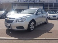 USED 2012 62 CHEVROLET CRUZE 1.6 LS 5d 124 BHP AMAZING VALUE FAMILY CAR