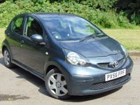 USED 2006 56 TOYOTA AYGO 1.0 VVT-I PLUS 5d 67 BHP LOW RUNNING COSTS  £20  PER YEAR TAX