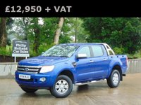 USED 2014 14 FORD RANGER 2.2 XLT 4X4 DCB TDCI 1d 148 BHP 4X4, GREAT SPEC, BLUETOOTH, CRUISE CONTROL, USB CONNECTION