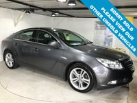 USED 2012 12 VAUXHALL INSIGNIA 2.0 EXCLUSIV CDTI ECOFLEX S/S 5d 128 BHP Only £30 a year road tax,  Full service history,  DAB Radio,  Bluetooth,  18-inch alloy wheels