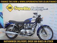 USED 2007 07 TRIUMPH BONNEVILLE T100  GOOD&BAD CREDIT ACEEPTED, OVER 500+ BIKES