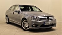 USED 2009 09 MERCEDES-BENZ C CLASS 2.1 C220 CDI SPORT 4d AUTO 168 BHP + 2 PREV OWNERS + FULL SERVICE HISTORY +