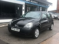 USED 2005 54 RENAULT CLIO 1.1 RUSH AUTHENTIQUE 8V 3d 58 BHP