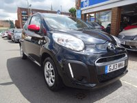 USED 2013 13 CITROEN C1 1.0 CONNEXION 3d 67 BHP ONYX BLACK/MULTICOLOUR TRIM