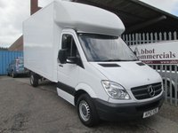 2012 MERCEDES-BENZ SPRINTER 313 CDi LWB Luton with Tail lift *ONLY 67000 MILES* £12495.00