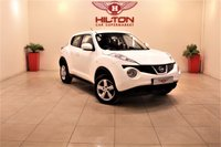 USED 2014 14 NISSAN JUKE 1.6 VISIA 5d 93 BHP + 1  OWNER FROM NEW + APPROVED DEALER