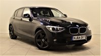USED 2014 64 BMW 1 SERIES 2.0 120D SE 5d 181 BHP 2 PREV OWNERS  +  APPROVED DEALER