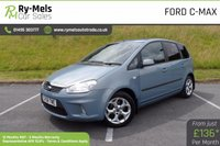 USED 2008 58 FORD C-MAX 1.6 ZETEC 5d 100 BHP ONE OWNER, FULL SERVICE HISTORY, LOW MILES
