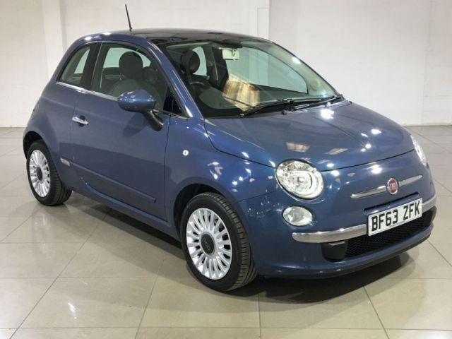 View our 2013 63 FIAT 500 1.2 LOUNGE DUALOGIC 3d 69 BHP