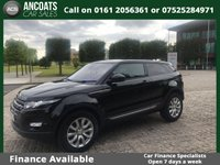 2014 LAND ROVER RANGE ROVER EVOQUE 2.2 ED4 PURE TECH 3d 150 BHP £21495.00