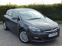 USED 2014 14 VAUXHALL ASTRA 1.4 EXCITE 5d  12 MONTHS FREE AA MEMBERSHIP