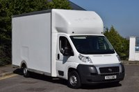 USED 2012 12 FIAT DUCATO 2.3 33 C/C MULTIJET 2d 129 BHP LOW LOADER MWB HI/ROOF EURO 5 DIESEL BOX VAN  LOVELY DRIVE BARGAIN PRICE