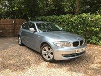 2011 BMW 1 SERIES 2.0 116D SE 5d 114 BHP £6489.00