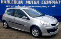 USED 2008 08 RENAULT CLIO 1.1 RIP CURL 16V 3d 75 BHP 2008 RENAULT CLIO 1.1 3 DOOR RIP CURL LIMITED EDT. IN METALLIC SILVER FULL SERVICE HISTORY ALLOYS RIP CURL BODY STYLING IDEAL FIRST CAR MUST BE SEEN