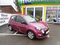 USED 2013 13 RENAULT TWINGO 1.1 DYNAMIQUE 3d 75 BHP JUST ARRIVED CALL 01543 379066