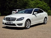 2011 MERCEDES-BENZ C CLASS 2.1 C220 CDI BLUEEFFICIENCY AMG SPORT 2d AUTO 170 BHP £13000.00