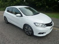 USED 2015 65 NISSAN PULSAR 1.5 TEKNA DCI 5d 110 BHP TOP SPEC NISSAN PULSAR DIESEL TEKNA WITH ONE PREVIOUS LADY OWNER, FULL LEATHER, SATELLITE NAVIGATION, CLIMATE CONTROL, CRUISE CONTROL AND ALLOY WHEELS