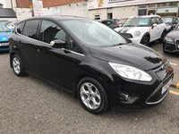 USED 2012 62 FORD C-MAX 1.6 ZETEC TDCI 5d 114 BHP PRICE INCLUDES A 6 MONTH AA WARRANTY DEALER CARE EXTENDED GUARANTEE, 1 YEARS MOT AND A OIL & FILTERS SERVICE. 12 MONTHS FREE BREAKDOWN COVER