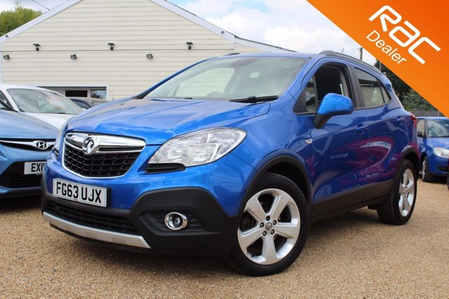 View our 2013 63 VAUXHALL MOKKA 1.7 TECH LINE CDTI S/S 5d 128 BHP
