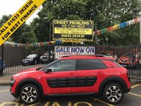 "USED 2015 15 CITROEN C4 CACTUS 1.2 PURETECH FLAIR 5d 80 BHP LOW MILEAGE AND SERVICE HISTORY, LOVELY CHARCOAL GREY CLOTH INTERIOR, BLUETOOTH, 17 INCH ALLOY WHEELS, 7"" TOUCH SCREEN, 16GB JUKE BOX, REVERSE CAMERA AND PARKING SENSORS,"
