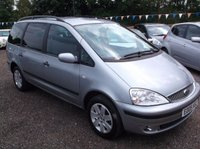USED 2005 05 FORD GALAXY 1.9 ZETEC TDI 5d 115 BHP ***Excellent economy - reliable family car  -  Service history  - Long MOT***