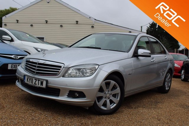 View our 2011 11 MERCEDES-BENZ C CLASS 1.8 C180 CGI BLUEEFFICIENCY SE 4d AUTO 156 BHP