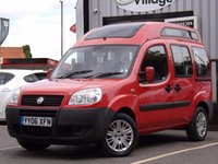USED 2006 06 FIAT DOBLO 1.4 8V ACTIVE H/R 5d 77 BHP DISABLED ACCESS VEHICLE (WAV)