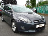 USED 2011 61 FORD FOCUS 1.6 ZETEC TDCI 5d 113BHP 1 OWNER+FSH 7STAMP+20 ROAD TAX