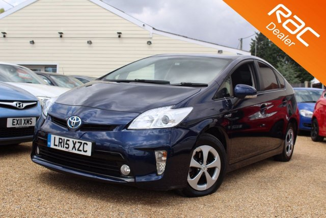 View our 2015 15 TOYOTA PRIUS 1.8 T3 VVT-I 5d AUTO 136 BHP