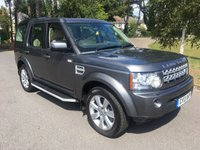 USED 2013 13 LAND ROVER DISCOVERY 3.0 4 SDV6 HSE 5d AUTO 255 BHP ONE OWNER HSE WITH ALL THE NORMAL EXTRAS FACELIFT MODEL WITH THE UPGRADED 8 SPEED GEARBOX