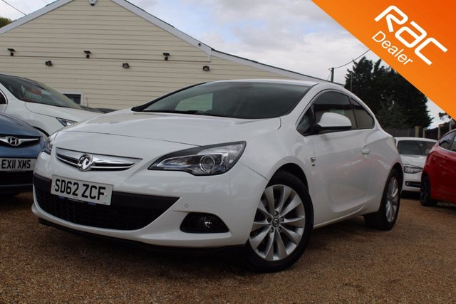 View our 2012 62 VAUXHALL ASTRA 1.4 GTC SRI 3d AUTO 138 BHP