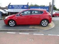 2011 VAUXHALL ASTRA 1.6 SRI 5d 113 BHP £5295.00