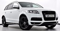 USED 2013 63 AUDI Q7 3.0 TDI S Line Plus Tiptronic Quattro 5dr [8] Pan Roof, Black Styling Pack