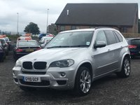 USED 2010 10 BMW X5 3.0 XDRIVE 3.0D M SPORT 5d AUTO  M SPORT, FULL LEATHER, SAT NAV, XENONS, HIGH SPEC,