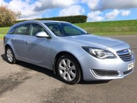 USED 2014 VAUXHALL INSIGNIA 2.0 TECH LINE CDTI ECOFLEX S/S 5d 138 BHP FULL VAUXHALL SERVICE HISTORY, EXCELLENT DRIVER