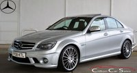 USED 2008 08 MERCEDES-BENZ C 63 AMG 6.2 V8 SALOON AUTO 451 BHP Finance? No deposit required and decision in minutes.