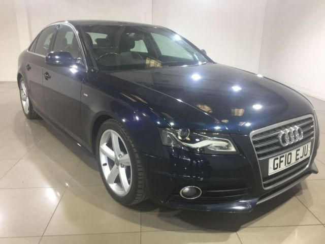 View our 2010 10 AUDI A4 2.0 TDI S LINE 4d 141 BHP