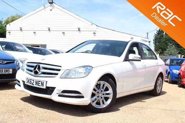 View our 2012 62 MERCEDES-BENZ C CLASS 1.6 C180 BLUEEFFICIENCY EXECUTIVE SE 4d 154 BHP