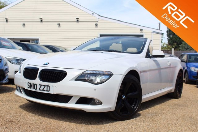 View our 2010 BMW 6 SERIES 3.0 635D SPORT 2d AUTO 282 BHP