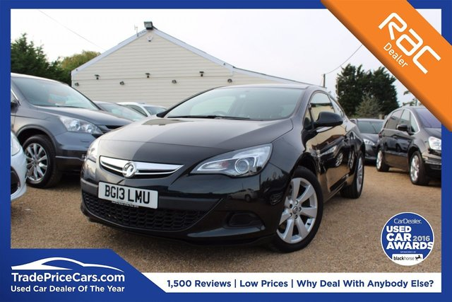 View our 2013 13 VAUXHALL ASTRA 1.4 GTC SPORT S/S 3d 118 BHP