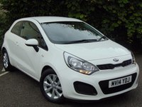 USED 2014 14 KIA RIO 1.2 VR7 3d **BALANCE OF KIA 7 YEAR WARRANTY**