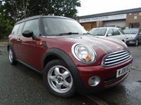 USED 2008 08 MINI CLUBMAN 1.6 COOPER 5d 118 BHP GREAT SERVICE HISTORY+MOT JUNE 2018