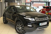 USED 2015 64 LAND ROVER RANGE ROVER EVOQUE 2.2 SD4 PURE TECH 3d AUTO 190 BHP FULL SERVICE HISTORY + FULL LEATHER SEATS + SAT NAV + BLUETOOTH + HEATED SEATS + 18 INCH ALLOYS + CRUISE CONTROL + PARKING SENSORS