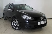 USED 2011 11 VOLKSWAGEN GOLF 2.0 SE TDI 5DR 140 BHP FULL SERVICE HISTORY + PANORAMIC ROOF + PARKING SENSOR + CRUISE CONTROL + 16 INCH ALLOY WHEELS
