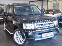 USED 2016 16 LAND ROVER DISCOVERY 3.0 SDV6 HSE 5d AUTO 255 BHP +SAT NAV+SUNROOF+MERIDIAN+