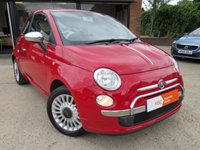 USED 2010 FIAT 500 1.2 POP 3d 69 BHP 1 PREVIOUS, ALLOYS, FULL LEATHER INTERIOR, AIR CONDITIONING, RAC INSPECTED, FULL SERVICE HISTORY